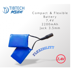 Batterie Flexible - 7,4V - 2200 mAh + Chargeur