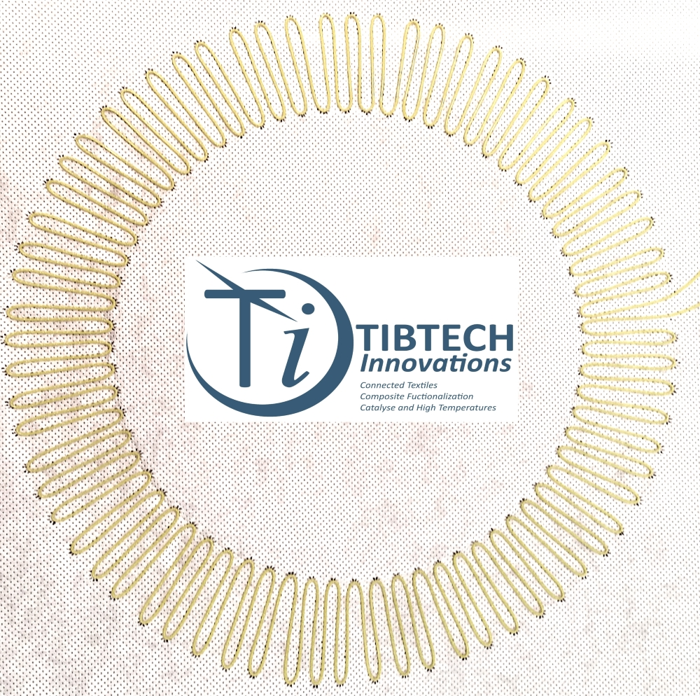 TIBTECH innovations: heating or de-icing fabric and