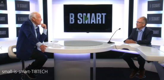 TIBTECH sur le plateau de small is smart