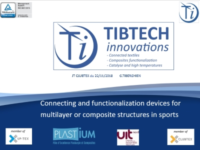 conférence G.Tiberghien JT CLUBTEX connecting devices in sports