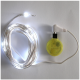 LED YARN PACK : 2 m long LED yarn (choice on color) + mini-button cell controller