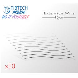 "Lot de 10 Connecteurs ""extension"" - 40cm - Compatible connectique Tibtech Inside"