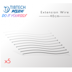 Set of 5 Extension wires - 40cm - Compatible with TIBTECH inside products