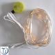 Luminous YELLOW LED Yarn (2m long, spacing 6cm)