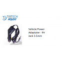 12V Vehicle power adapter compatible witch TIBTECH Inside Micro Connexions